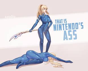 That is Nintendo's ass by AztoDeus