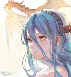Azura - Fire Emblem If by AztoDeus