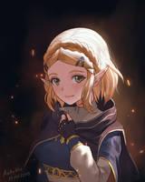 Princess Zelda - Breath of the Wild 2 by AztoDio