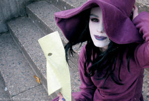 Smiling Witch by Federkiel