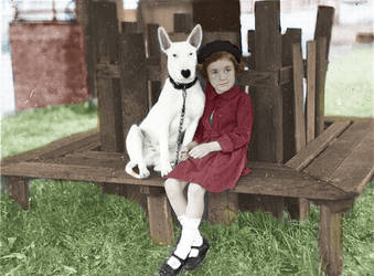 Black And White Colorization Pic by cayleem2