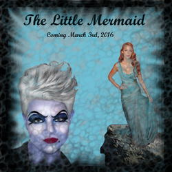 Movie Poster The Little Mermaid by cayleem2