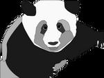 Panda Grayscale