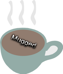 Logo Mugged by cayleem2