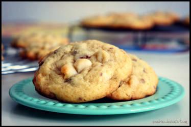 Chocolate-Marzipan Cookies