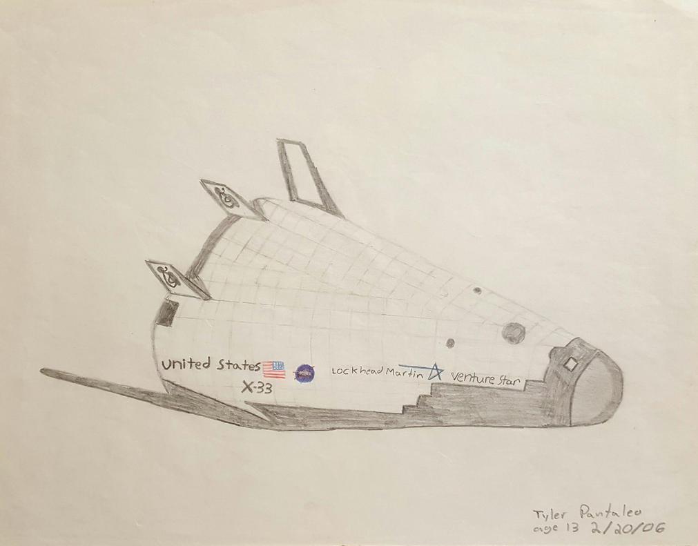 Canceled X-33 venture star by Blazinghalo