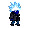Blue Flame sprite base by Liyito