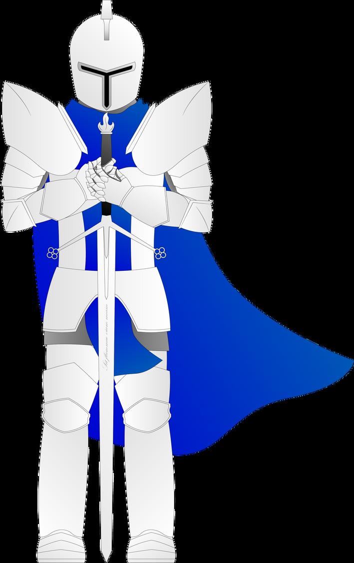 Carolius Escadora of Ignis ( a.k.a Sir Blue Flame) by Liyito