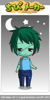 Chibi Zombie Minecraft