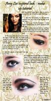 Amy Lee inspired make up tut by SadakoKuramizu