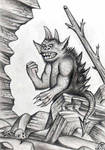 Grumpy old monster