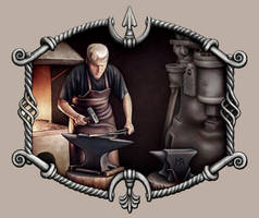 Blacksmith by Astalo