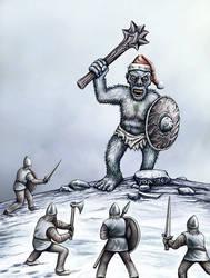 Christmas troll by Astalo