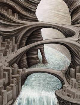 Strange cities 3 - Canyon city
