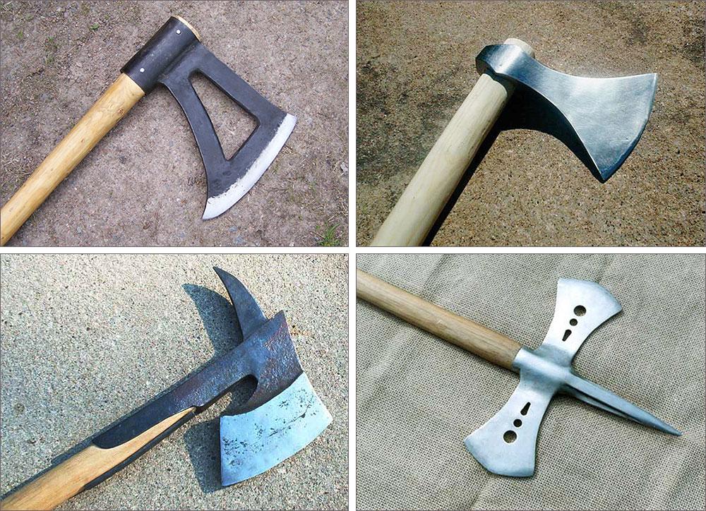 Four axes by Astalo
