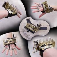 Clockwork hand by Astalo