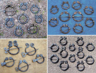 Penannular brooches 1 by Astalo