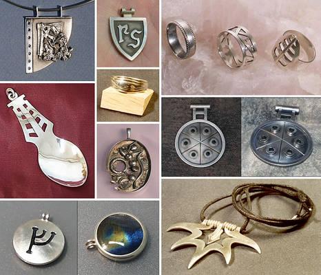 Silver jewelry 1