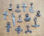 Forged steel pendants 4