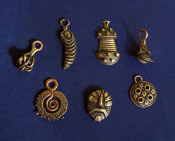 Bronze jewelry 3 by Astalo