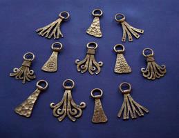 Forged steel pendants 5 by Astalo