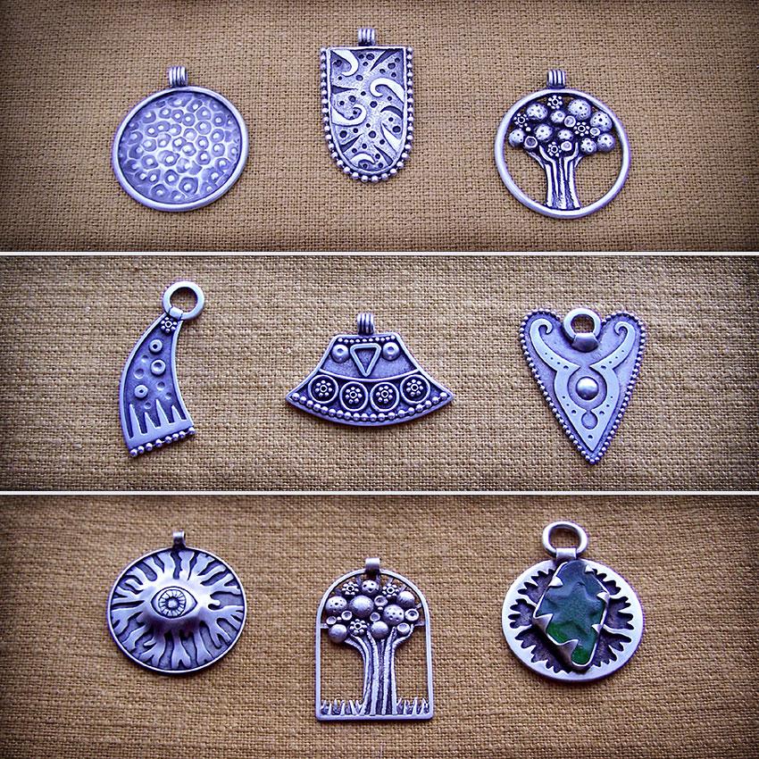 Silver jewelry 3 by Astalo