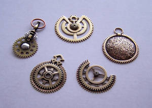 Clockpunk pendants 1