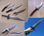 Fantasy knifes and daggers