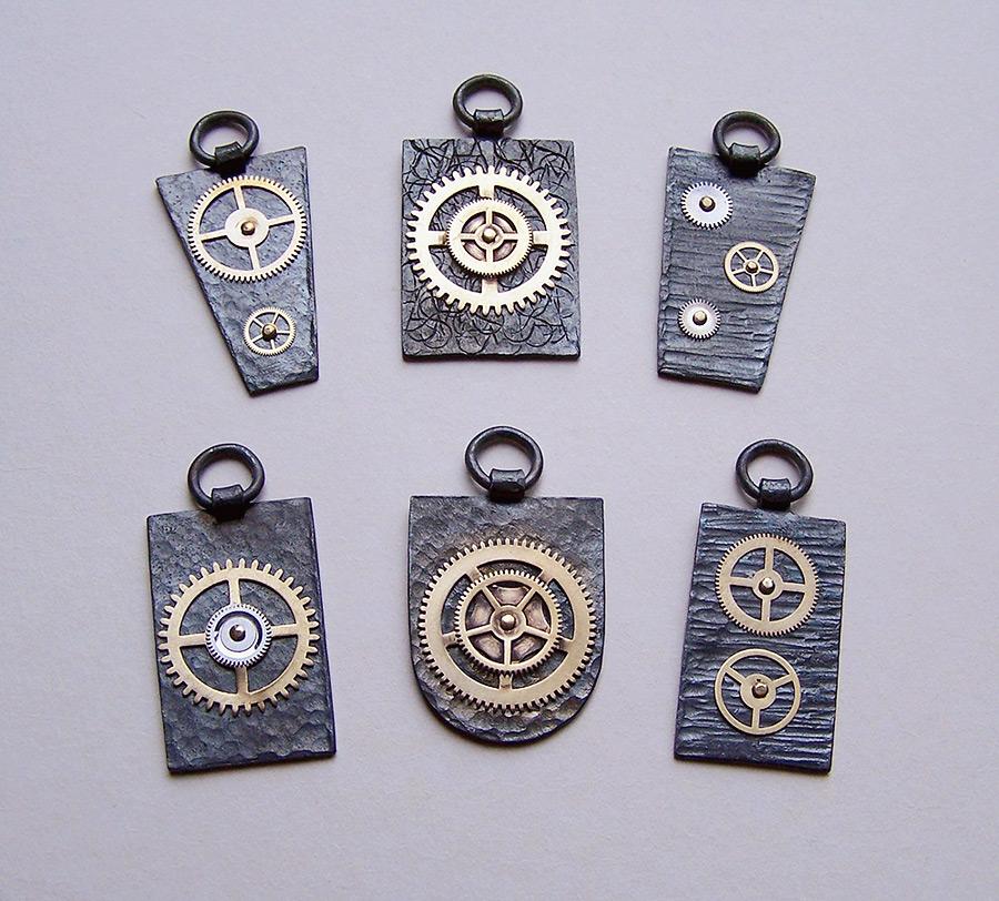Clockpunk pendants 4 by Astalo