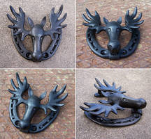 Moosehead door knocker by Astalo