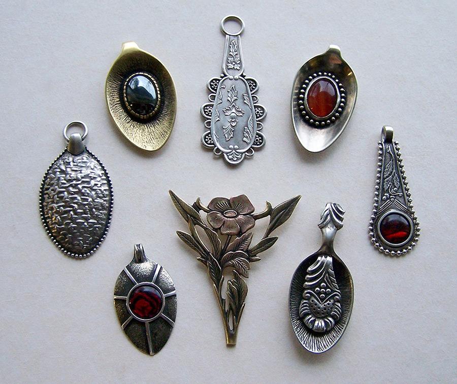 Spoon pendants 3 by Astalo