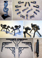 Forged objects 6 by Astalo
