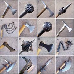Weapon closeups