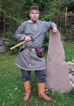 Viking costume 1 by Astalo