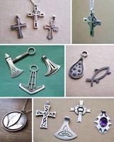 Silver jewelry 4 by Astalo