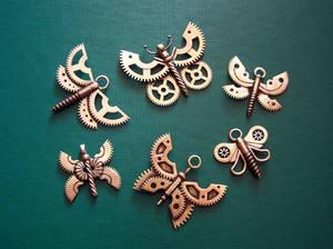 Clockpunk pendants 7