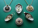 Clockpunk pendants 9