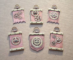 Clockpunk pendants 10 by Astalo