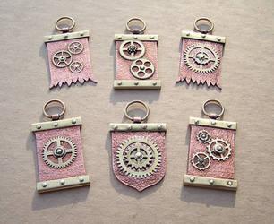 Clockpunk pendants 10 by Astalo