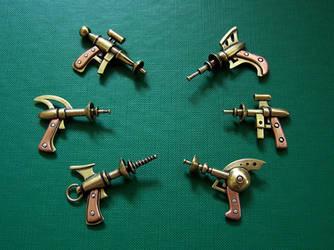 Raygun pendants