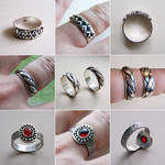 Silver Rings 1