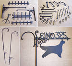 Forged objects 12