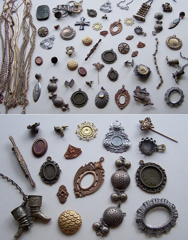 Jewelry parts