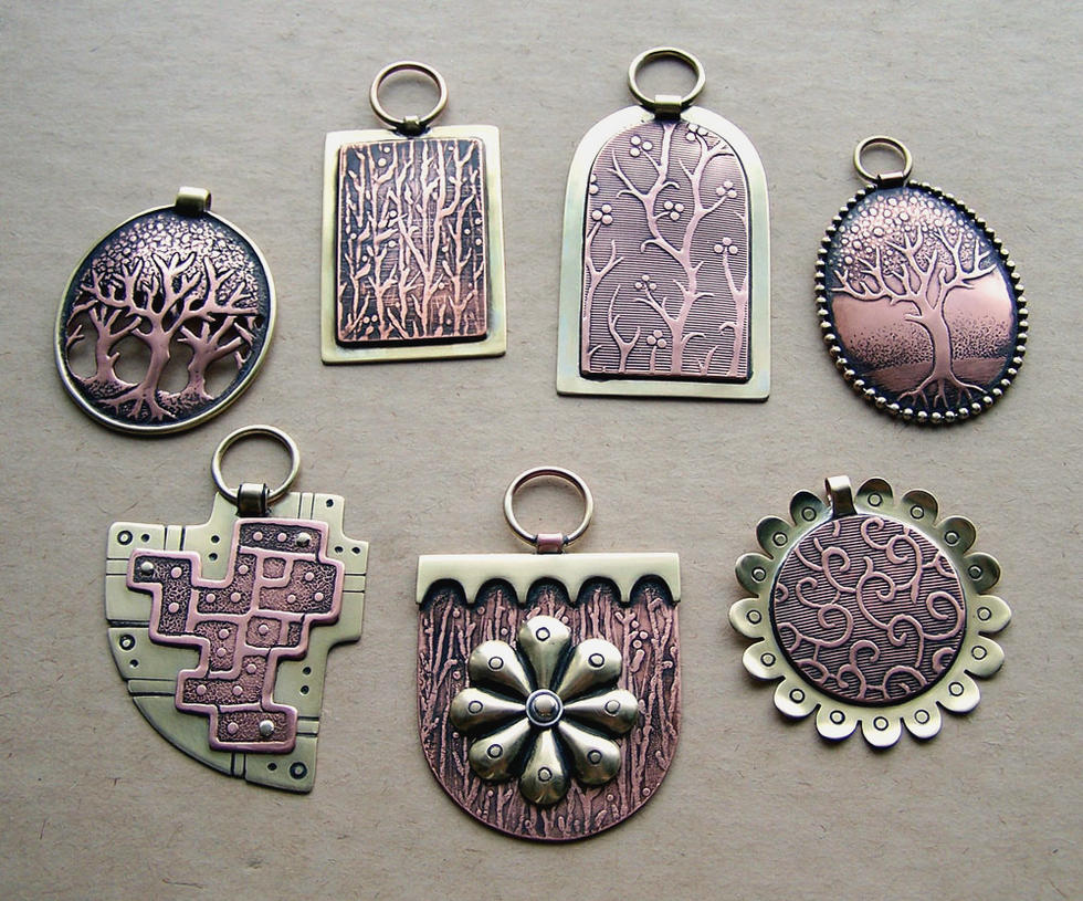 Mixed metal jewelry 3 by Astalo on DeviantArt