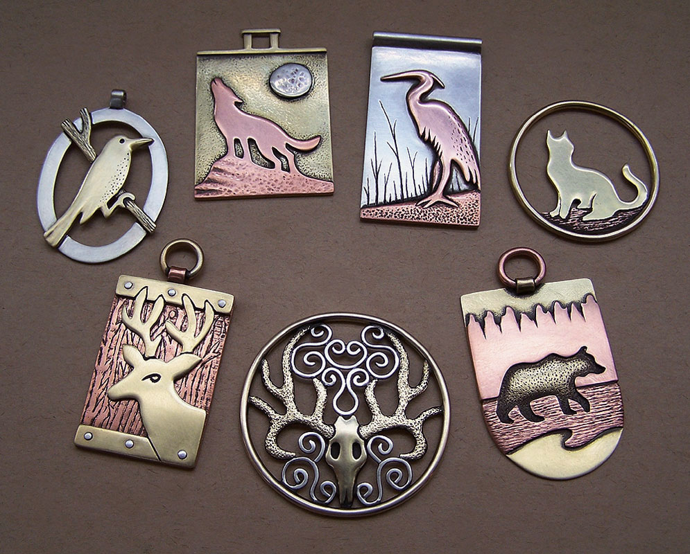 Mixed metal jewelry 4 by Astalo on DeviantArt