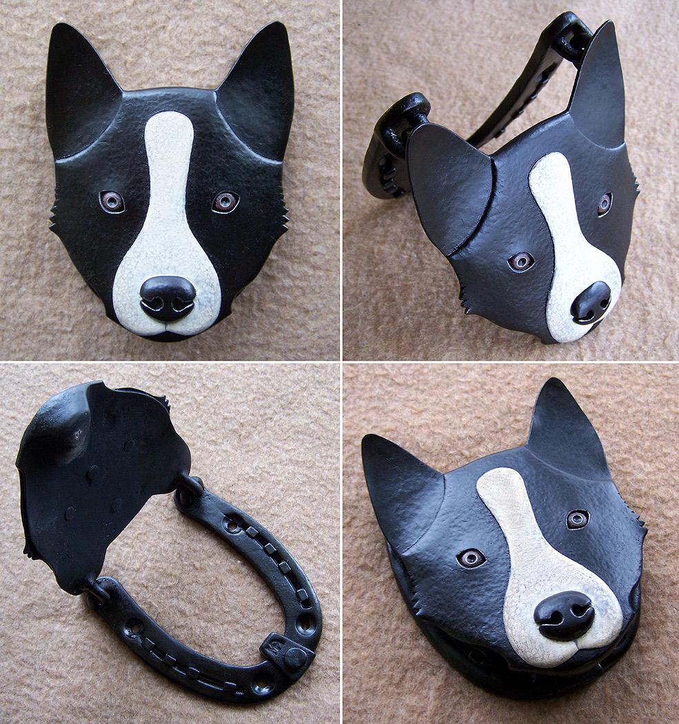 Door Knocker Dog by Astalo