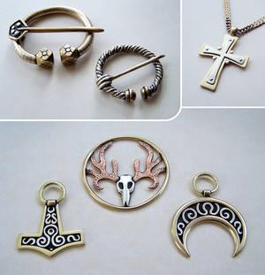 Mixed metal jewelry 6