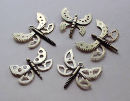 Clockpunk pendants 13 by Astalo