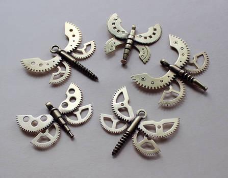 Clockpunk pendants 13