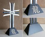 Oriental cross memorial by Astalo
